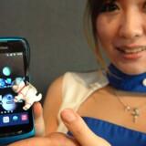 Smartphone ZTE STAR7 Softbank 009Z, som har installeret Android 2.3.