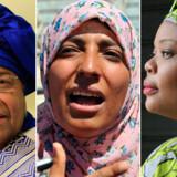 Liberias præsident Ellen Johnson Sirleaf, den yemenitiske protestleder Tawakkul Karman og den liberiske fredsaktivist Leymah Gbowee deler Nobels Fredspris.