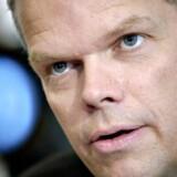 DSB's konsituterede direktør Klaus Pedersen under dagens pressemøde.
