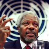 I 2001 vinder FN og FNs generalsekretær Kofi Annan fredsprisen.