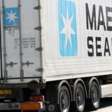 Maersk Sealand, lastbil med container