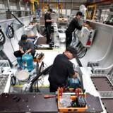 Siemens er en af de mange virksomheder, der har slået sig ned i Ikast-Brande området. Arkivfoto