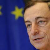ECB-chef Mario Draghi vil blive nødt til at stimulere økonomien i lang tid endnu, vurderer Nykredit.