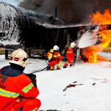 De 68 mænd i Brand og Redning i Købehavns Lufthavn træner benhårdt, så de altid er klar, hvis katastrofen skulle indetræffe.