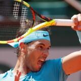 Rafael Nadal er klar til semifinalen ved French Open efter en sejr over Diego Schwartzman. Gonzalo Fuentes/Reuters