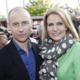 ARKIVFOTO. Statsminister Helle Thorning-Schmidt og manden Stephen Kinnock.