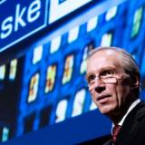 Danske Banks topchef Peter Straarup har et flekslån i sin private bolig. Han er dog så fornuftig at betale afdrag på lånet, skriver Økonomisk Ugebrev.