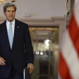 Da USAs udenrigsminister, John Kerry, i går fremlagde den amerikanske holdning til Syriens brug af giftgasser, sagde han, at et eventuelt amerikansk militært angreb ville blive begrænset. Foto: Shawn Thew