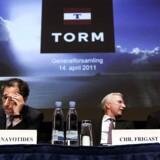 Torm-topledelsen på generalforsamling på Radisson i Falconercenteret på Frederiksberg i april i år.