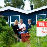 På landsplan handles de typiske boliger 23 procent under den offentlige vurdering, viser optællingen fra Home.