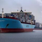 Det ser ud til at lysne for Maersk Line, der kan konstatere stærkt stigende fragtrater på ruter til Kina.