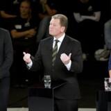 Partilederdebat i DR's Koncerthus i Ørestad den 13. september 2011.