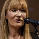 Bente Klarlund Pedersen i DRs koncerthus fredag 11. februar 2011, hvor hun modtog Rosenkjærprisen