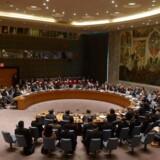Arkivfoto fra FNs Sikkerhedsråd i New York.