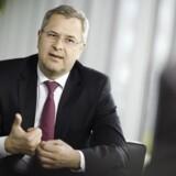 Maersk Lines topchef, Søren Skou, trimmer rederiet - bl.a. med fyringer.