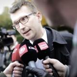 Her forlader tidligere skatteminister Troels Lund Poulsen (V) Skattekommissionen onsdag d.23.oktober 2012.