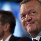 Der var klapsalver til Kristian Jensen og Lars Løkke Rasmussen, da de lørdag blev genvalgt som henholdsvis næstformand og formand for Venstre på partiets landsmøde.