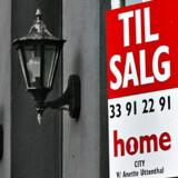 Der er blevet længere mellem til salg-skiltene i København.