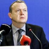 V-formand Lars Løkke Rasmussen fremlagde søndag bilagene i GGGI-sagen.