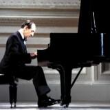 Vladimir Horowitz under den legendariske optræden i Carnegie Hall 9. maj 1965. Foto: Sony Music