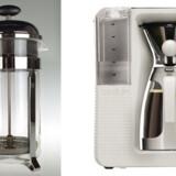 Fra den klassiske stempelkande til den nye kaffebrygger pour-over fra Bodums nye serie e-bodum.