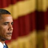 Barack Obama under sin tale i Cairo.