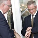 Tiden er kommet til, at DONG Energys formand Fritz Schur (tv.) og direktør Anders Eldrups veje skilles.