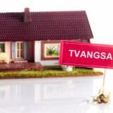 Knap 500 gange blev en familie sat ud af deres ejerbolig alene i januar 2010.