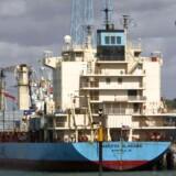Maersk Alabama blev tidligere kapret af pirater. Nu vil rederiet have bevæbnede vagter med om bord.