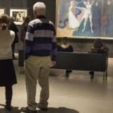 Edward Munch-udstillingen på Kunstmuseet Aros i Aarhus var støttet af bl.a. A.P. Møller fonden. Foto: Kim Haugaard