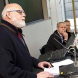 Fagligt Fællesforbund(3 F) afholder høring om efterlønnen - bl.a indlæg fra Poul Erik Skov Christensen, 3F, Dennis Kristensen, FOA (Foto: Keld Navntoft / Scanpix 2011)