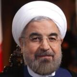 ARKIVFOTO af Irans præsident Hassan Rouhani.