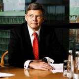 Nordeas topchef, Christian Clausen, har som sin forgænger, Thorleif Krarup, også en kæmpe pension - godkendt af regeringens repræsentant i bestyrelsen, som selv får endnu mere. Foto: Kristian Sæderup, Scanpix