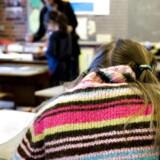 ARKIVFOTO. Forældre kan ikke bare tage en sygedag, hvis de efter påske står med et skolebarn, der ikke kan komme i skole på grund af lærerkonflikten.