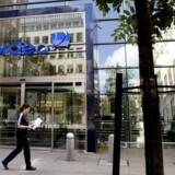 Nordeas hovedkvarter i Stockholm. Banken risikerer et milliardtab, hvis rederiet General Maritime går konkurs.