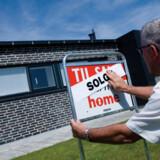 For første gang i mange måneder viser analyse flere købere end sælgere på boligmarkedet.