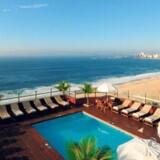 Her ses udsigten fra Hotel Porto Bay i Rio de Janeiro, hvor Lars Løkke Rasmussen på et tidspunkt har boet.
