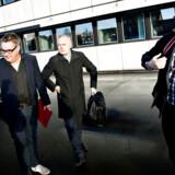 ARKIVFOTO. BTs redaktionschef Simon Andersen, chefredaktør Olav Skaaning Andersen og journalist Thomas Nørmark Krog