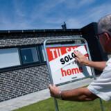 Der er færre boliger på markedet  end for et år siden.