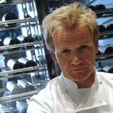 Gordon Ramsay er blevet kendt som hård tv-kok.