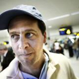 Jorge Rendon ankom i går til København fra Mexico By, der er hårdt ramt af svineinfluenza.