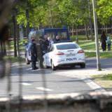 Politiet er tilbage i Vollsmose efter skudepisoden i nat, som fik betjentene til at trække sig tilbage.