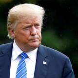 Arkivfoto af USA's præsident, Donald Trump.