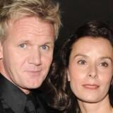 Arkivfoto: Gordon Ramsay med hustruen Tana, der er midtpunkt i striden med Ramsays svigermor.