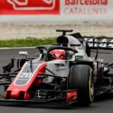Kevin Magnussen har opnået point i to af de første fire grandprixer i Formel 1-sæsonen. Bedst gik det i Bahrain, hvor han fik en femteplads. Scanpix/Josep Lago/arkiv