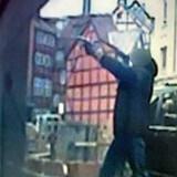 Et overvågningskamera fangede gerningsmanden bag det seneste opgør i Københavns bandekrig, hvor HA-medlemmet Brian Sandberg blev lettere såret.
