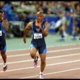 Maurice Greene vinder her OL-guld på 100 meter ved OL i Sydney i 2000.