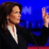 Kongresmedlem Michele Bachmann gjorde indtryk på publikum med slagkraftige one-liners.