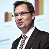 Kristian Vie Madsen, vicedirektør hos Finanstilsynet, ser med en vis bekymring på udviklingen i bankernes erhvervsudlån.