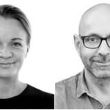 Julie Ralund og Flemming Møldrup